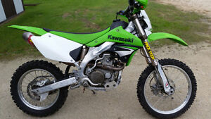 2008 KLX 450R - low km, lots of extras