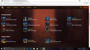 Battle.net account WOW and hearthstone