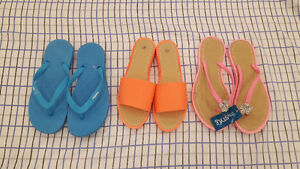 Women's sandals - 3 pairs for $6! (size 8)