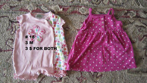 Baby girl clothes 0 to 3 months. London Ontario image 8