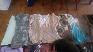 HUGE Womens size large tops, dress tops, tees & tanks