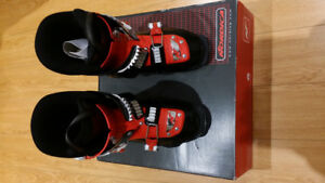 Two pairs of Boy's Ski Boots: 23.5(275mm) and 24.5(290mm)