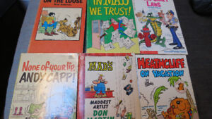 funny books(Mad,Heathcliff,Andy Capp,etc...)(6)