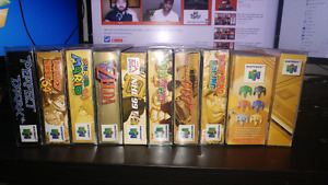 Boxed N64 COLLECTION