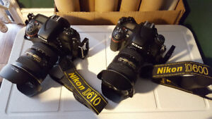 Nikon camera and lens for sale