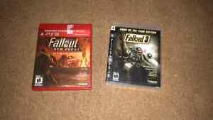 Fallout Special Edition Games for Ps3.