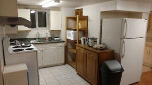 4 bedroom 1 bathroom basement suite