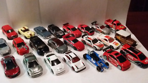 Lot voitures hot wheels Honda Nissan Toyota ect