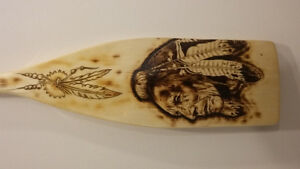 Native Inspired Canoe Paddle