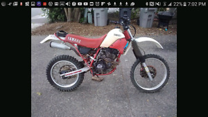 WANTED - 200cc plus dirtbike