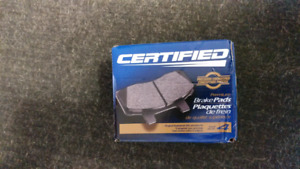 CX497 new front brake pads