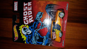 Hot Wheels 1:64 Diecast Ghost Rider Real Riders