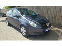 2009 09 Vauxhall/Opel Corsa 1.2i 16v Active ONLY DONE 14k MAY P/X