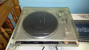 Jvc quratz locked auto return turntable