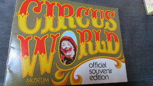 """Circus World Museum Baraboo, Wis"" book"