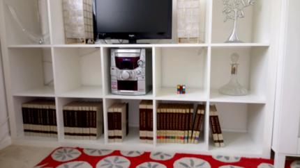 Ikea Cube Shelving / Entertainment Unit