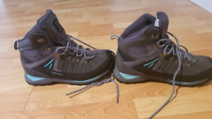 Karrimor Ladies Hiking boots. US size 8. Worn Once (wrong size)