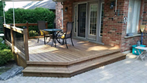 Quality deck installations