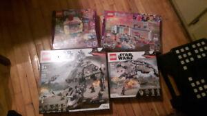 Lego star wars et Lego friends