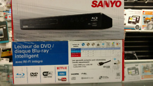 Sanyo SMART Wireless Blue ray DVD  player