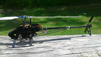 Trex 450 pro dfc 360mm stretch rc helicopter