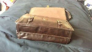 Leather Brief Case,