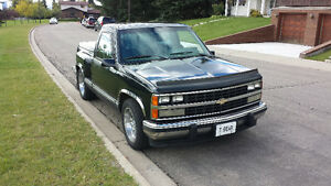 1991 CHEV Short Box Stepside 168 Klm $9500.00