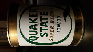2 Quaker State Motor Oil Cans London Ontario image 2