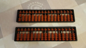 2 Abacus Soroban Calculator  17 Column