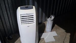 LG 5=star rated AC/Dehumidifier 8000 BTU lightly used