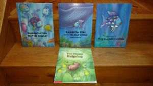 12 Marcus Pfister hardcover & softcover picture books