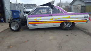 1964 ford falcon race car  (roller) no engin or trans