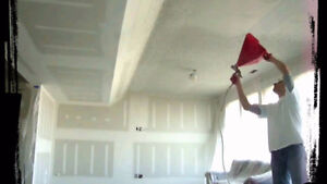 Popcorn Ceiling Removal (PCR) Cambridge Kitchener Area image 3