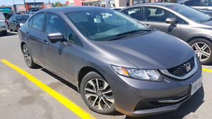 Honda Civic 2015 Ex - Lease Takeover - Very Low Payments