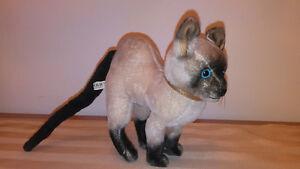 KAMAR 1968 Siamese Cat Vintage Stuffed Toy/Tou Tou Chat