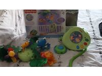 Fish price rain forest mobile for cot