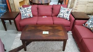 Wooden Coffee and End Table Set - Delivery Available