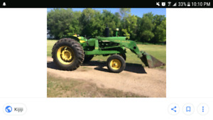 Looking for John deere tractor