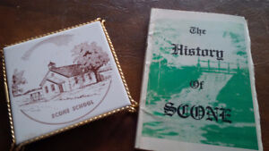 Book: The History of Scone, ON  Scone School Hot Plate