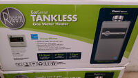 Rheem Tankless hot water heater installed - only 1 available