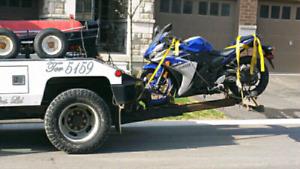 Motorcycle & car Towing cheap  Toronto GTA 6477025734 javed