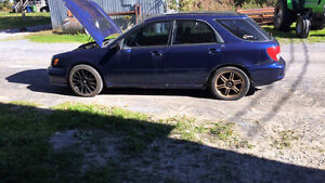 2002 Subaru Impreza Conversion sti 2007 Berline