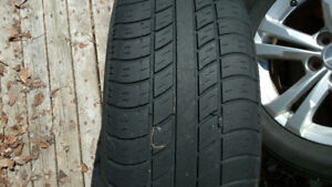 225/60R17  225 60 17 TIRES  UNIROYAL TIGER PAW  GREAT COND!