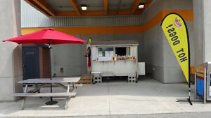 Fully equipped hot dog/sausage business for sale