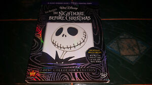 Tim Burton's The Nightmare Before Christmas 2 Disc on dvd MINT!!