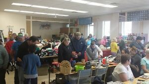 Huge Yard/Craft/Vendor Sale at the Enfield Fire Hall - Feb. 9-1