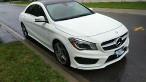 2015 Mercedes-Benz CLA250 Sedan