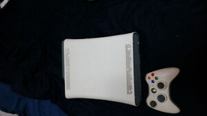 Xbox 360 plus 10 games lot for sale 100.00