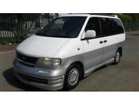 1996 P NISSAN LARGO MPV 4WD LONG M.O.T LEATHER ALLOYS 7 SEATS PX-SWAPS