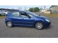 2004 54 PLATE PEUGEOT 307 S HDI 90